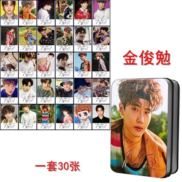 ชุดรูปพร้อมกล่องเหล็ก #EXO THE WAR KoKoBop #Suho