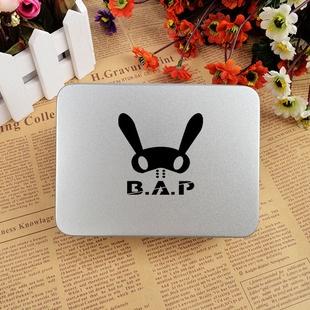 กล่องเหล็กB.A.P สีเงิน