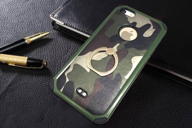 เคสกันกระแทกสองชั้นลาบทหารติดแหวน ไอโฟน6plus/6s plus 5.5 นิ้ว(ใช้ภาพรุ่นอื่นแทน)