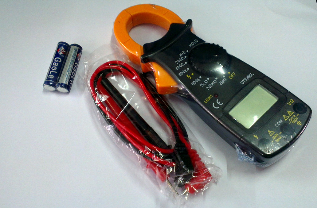 แคลมป์ มิเตอร์ - เครื่องวัดกระแสไฟฟ้า และแรงดัน ดิจิตอล