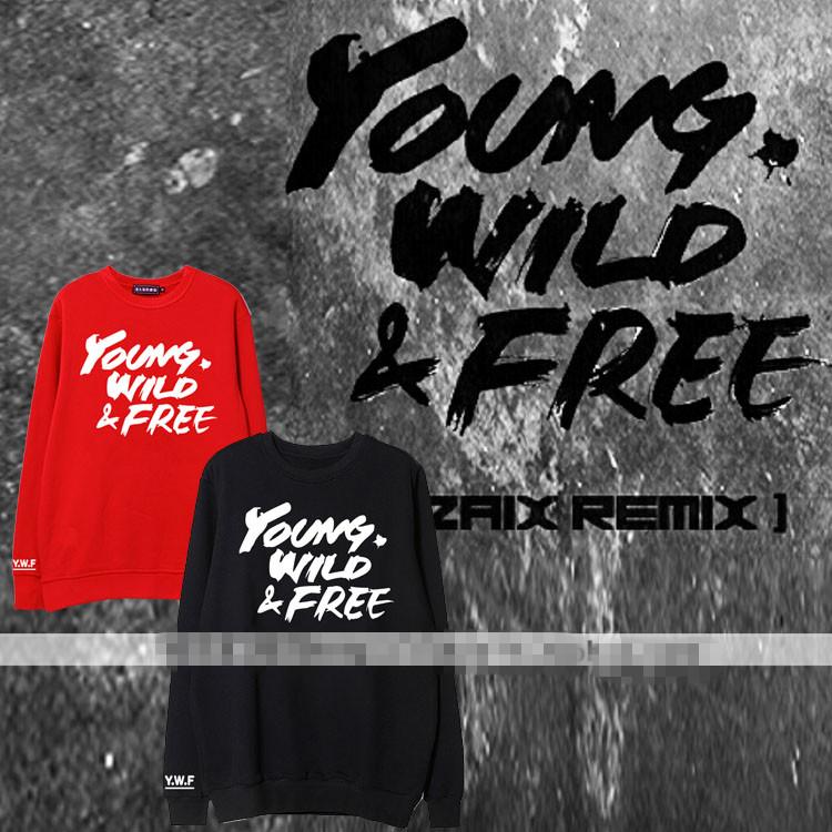 เสื้อแขนยาวกันหนาว (Sweater) BAP - YOUND WILD & FREE