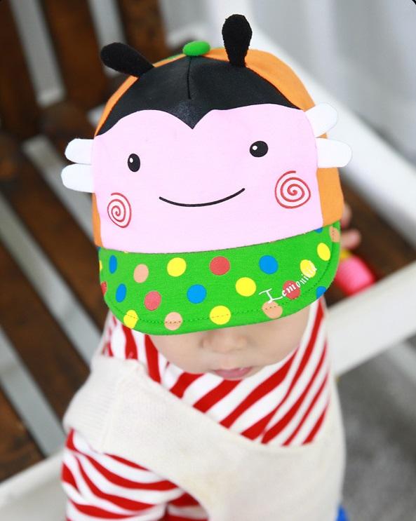 หมวกผึ้งสีชมพู แพ็ค 3 ชิ้น