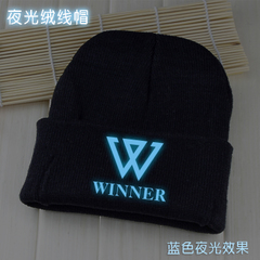 หมวกเรืองแสง WINNER สีดำ