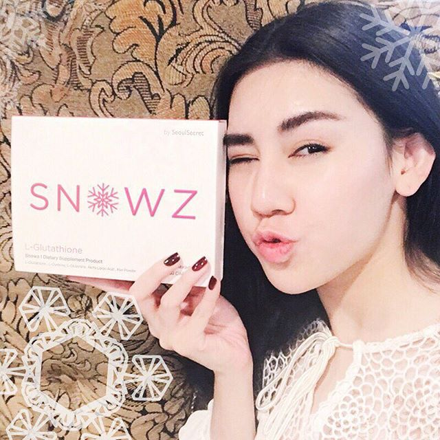 Snowz Gluta by Seoul Secret (สโนวซ์ กลูต้า) อาหารผิว SnowZ สารสกัดจากเมล็ดกีวีนำเข้าจากญี่ปุ่น