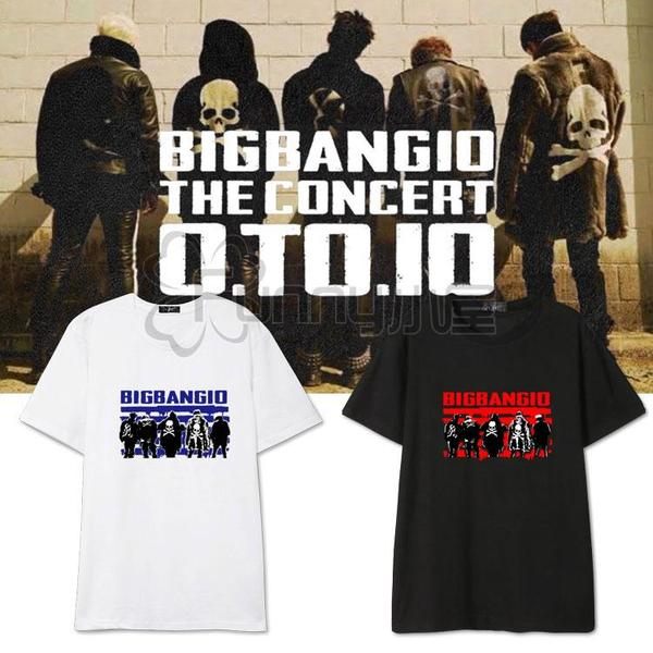 เสื้อแฟชั่นนักร้องเกาหลี เสื้อยืด Bigbang10 (ระบุไซส์ สี)