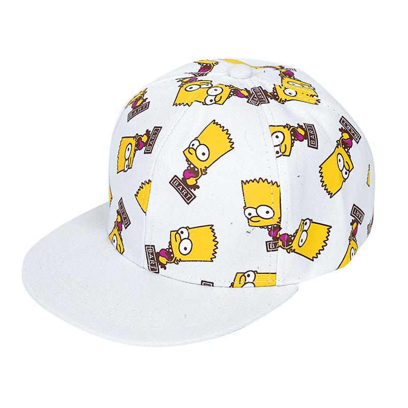 หมวกแฟชั่นเกาหลี ลายการ์ตูนหมวกเบสบอล (PYM112)