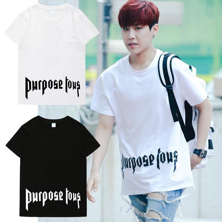 เสื้อยืด (T-Shirt) Purpose Tous แบบ Park Woo Jin