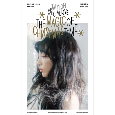 TAEYEON SPECIAL LIVE [THE MAGIC OF CHRISTMAS TIME] (2 DISC)