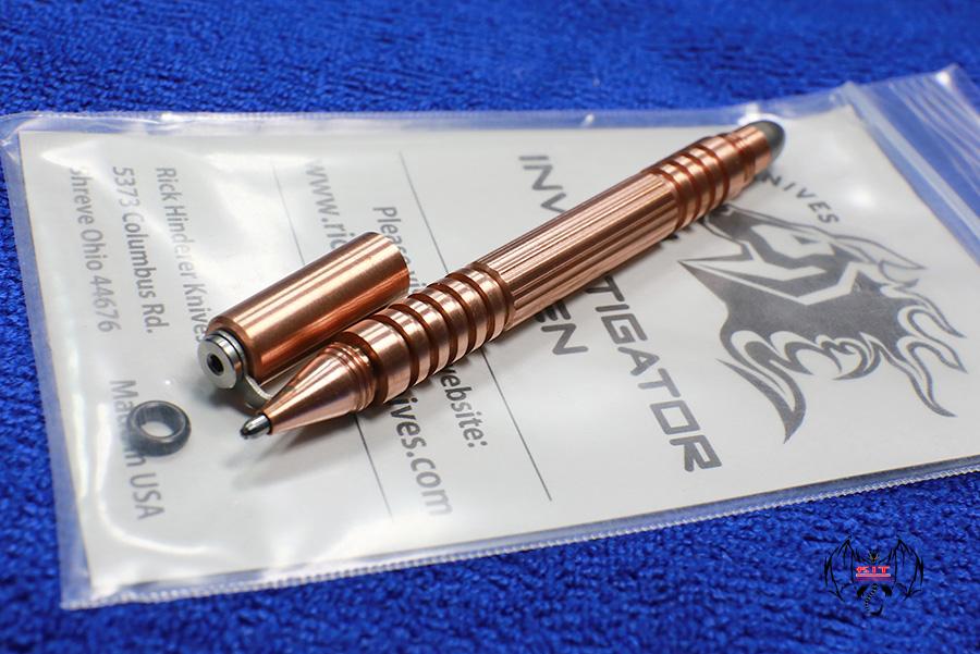 Hinderer INVESTIGATOR PEN - Copper