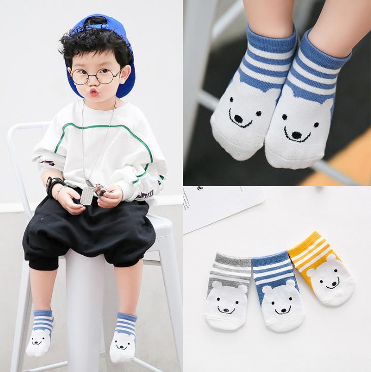 ถุงเท้าสั้น คละสี แพ็ค 12 คู่ ไซส์ S (อายุ 1-3 ปี)