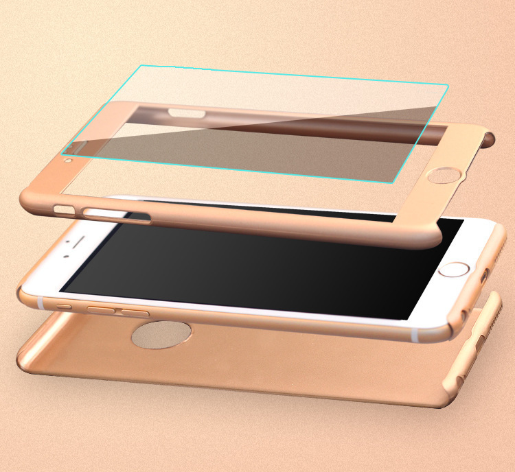 เคสประกบ 360 องศา พร้อมฟิล์มกระจก ไอโฟน 6/6s 4.7 นิ้ว