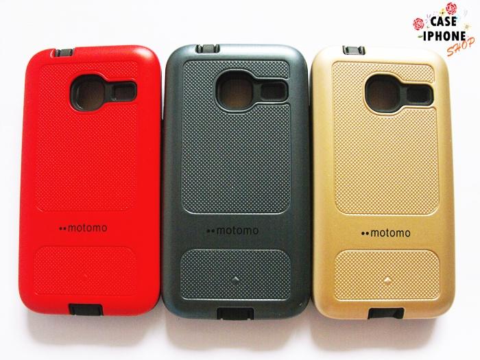 เคส Motomo รุ่นใหม่ ขอบนิ่ม ซัมซุง เจ 1 mini