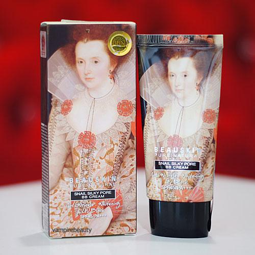 Misaekyeon BeauSkin Pure Natural Snail Silky Pore BB Cream SPF45 PA+++ No.21 ผิวขาว-สองสี
