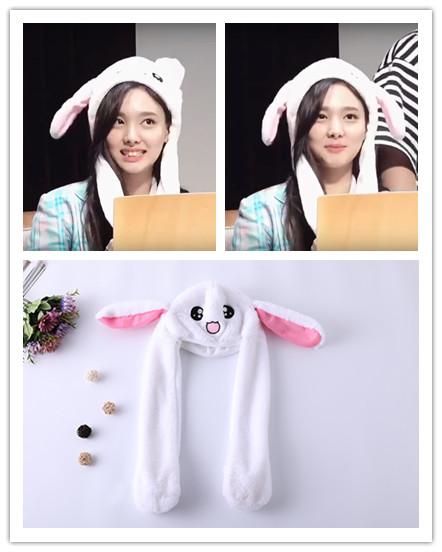 หมวกหูกระต่ายดุ๊กดิ๊ก แบบ Nayeon