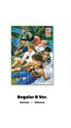 อัลบั้ม [#EXO ] #KoKoBop 4th ALBUM - THE WAR : ปก Regular B Ver. (ระบุเกาหลี หรือ จีน ที่ช่องหมายเหตุ)