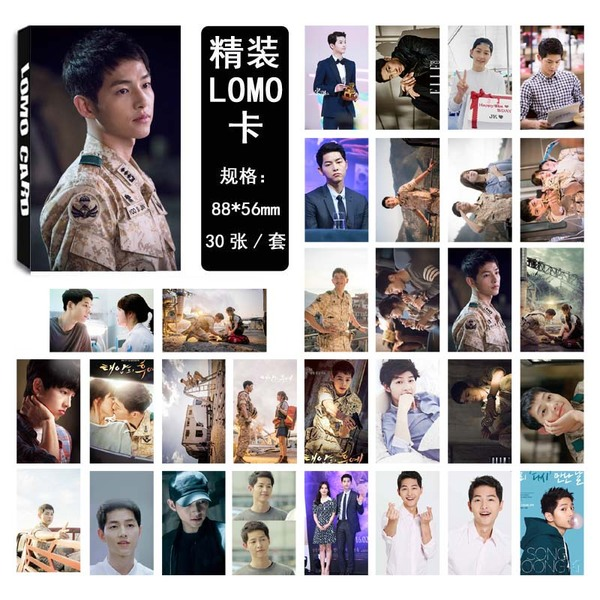 รูป Descendants of the Sun Song Joong Ki LOMO 30 รูป