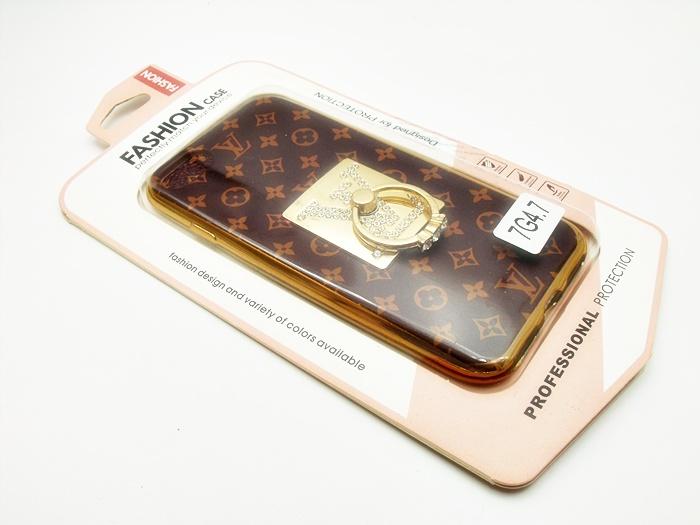 เคส tpu หลุยส์ติดแหวนเพชร ไอโฟน 7 4.7 นิ้ว