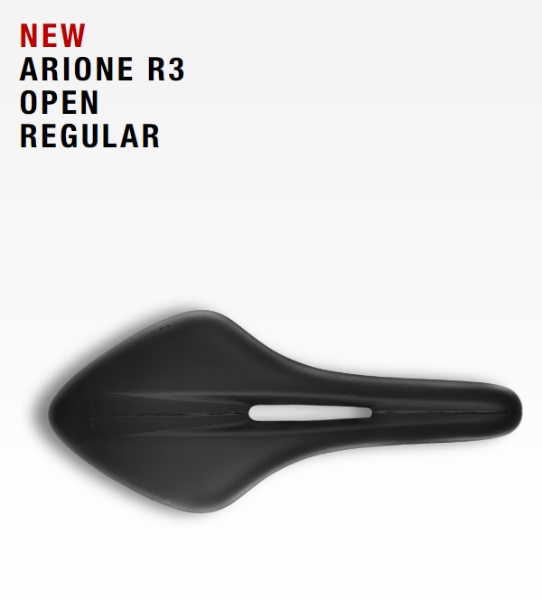 เบาะ Fizik ARIONE R3 OPEN REGULAR 2018 ,white edition