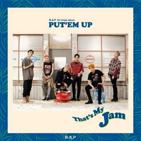 B.A.P - 5th Single album PUT'EM UP + Poster