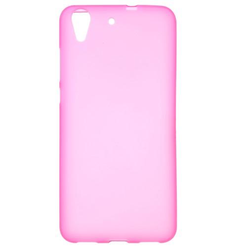 เคสนิ่ม TPU Huawei Y6ll สีชมพู