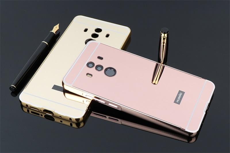เคส Huawei Mate 10 Pro รุ่น Aluminium Hybrid Mirror Back (เคสฝาหลังเงา)