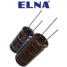 Capacitor Elna electrolyte