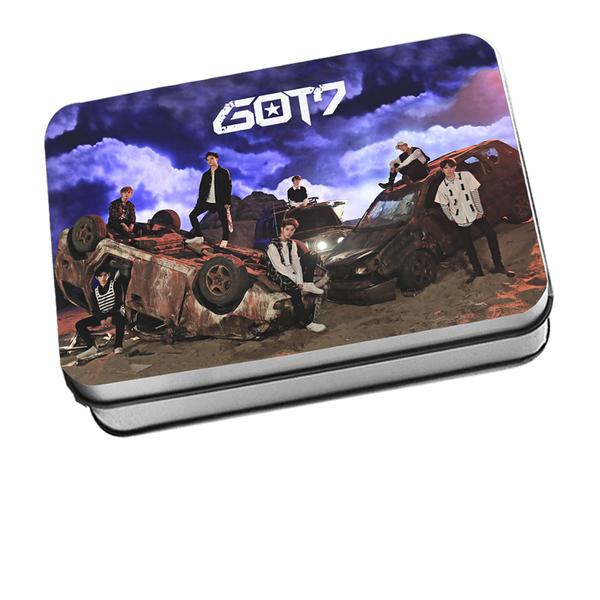 ชุดรูปพร้อมกล่องเหล็ก #GOT7 [FLIGHT LOG : TURBULENCE]