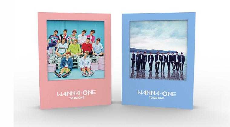 อัลบั้ม WANNA ONE - 1X1=1 (TO BE ONE)