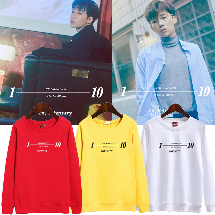 เสื้อแขนยาว (Sweater) Kim Sung Kyu - 10 Stories