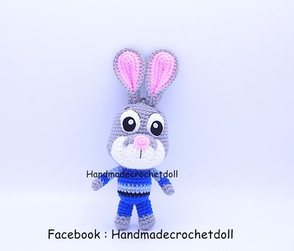 ตุ๊กตาถัก กระต่าย