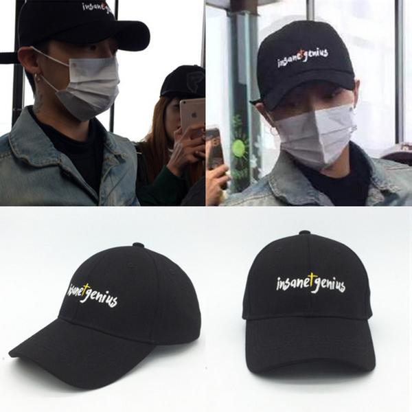 หมวก Bigbang สีดำ
