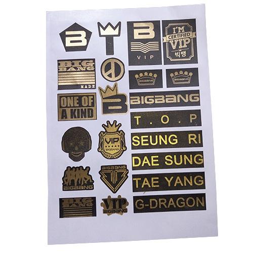 สติกเกอร์ #BIGBANG