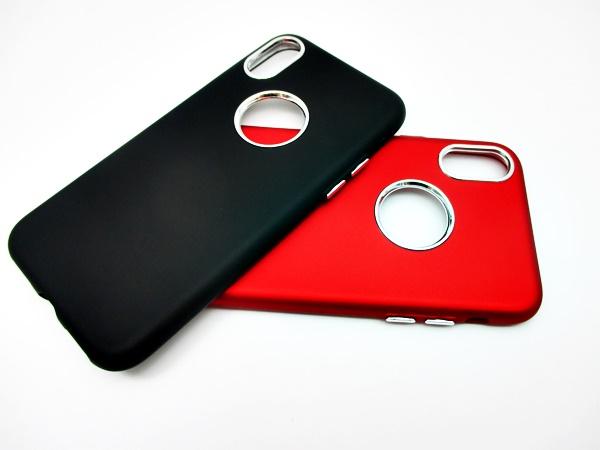 เคส iPhone X เนื้อกำมะหยี่ครอบเลนส์กล้อง