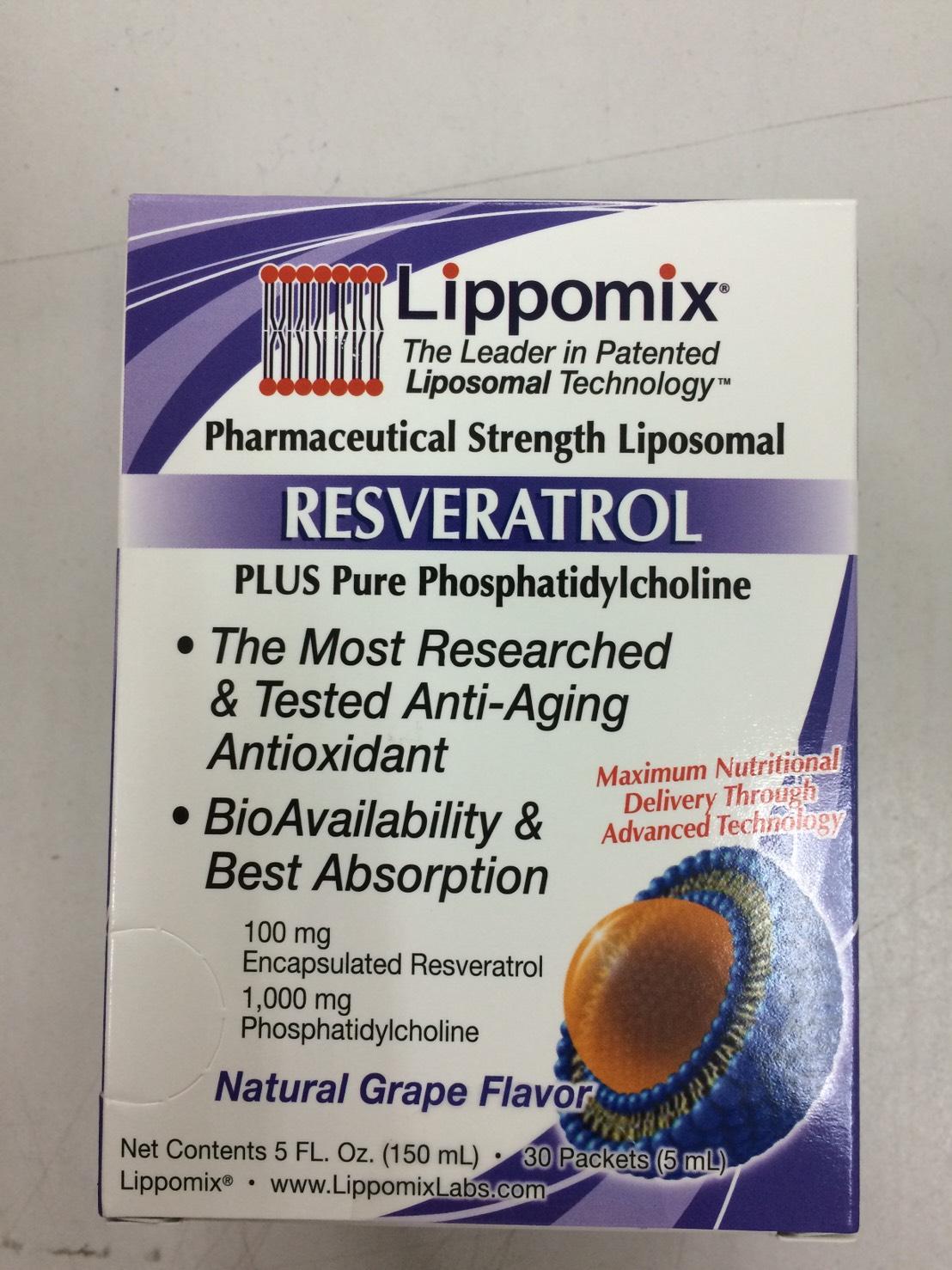 Lippomix Liposomal RESVERATROL