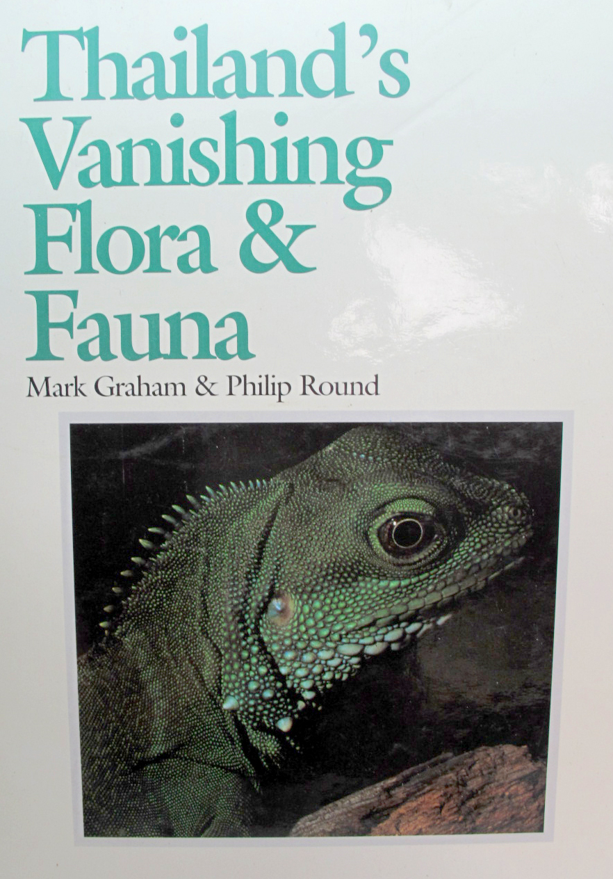 หนังสือภาพสีพืชและสัตว์ที่กำลังจะสูญพันธุ์ในประเทศไทย Thailand's Vanishing Flora & Fauna