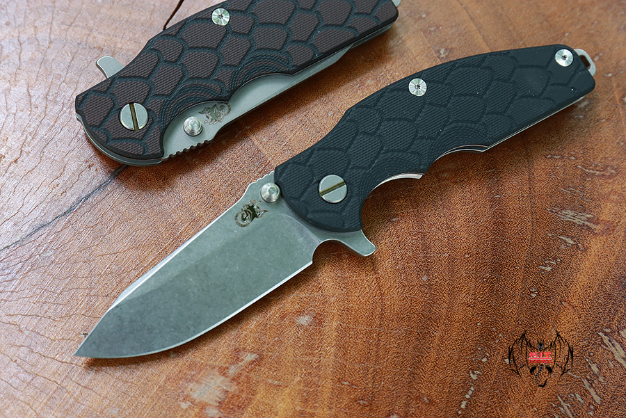 RHK Jurassic Stonewashed Finish Black G-10