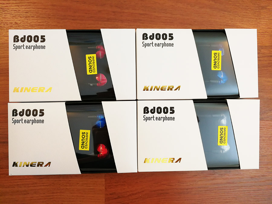 หูฟัง Kinera Bd005 Inear V.2 จูนเพิ่มโทนเสียงแหลม Improved Sound ราคาประหยัด มีไมค์ ถอดสายได้ 2Drivers