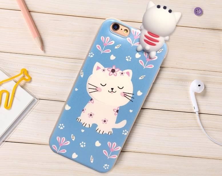 เคส tpu ลายแมวเกาะ ไอโฟน 6/6s 4.7 นิ้ว (ใช้ภาพรุ่นอื่นแทน)