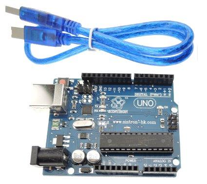 Arduino UNO R3 พร้อมสาย USB