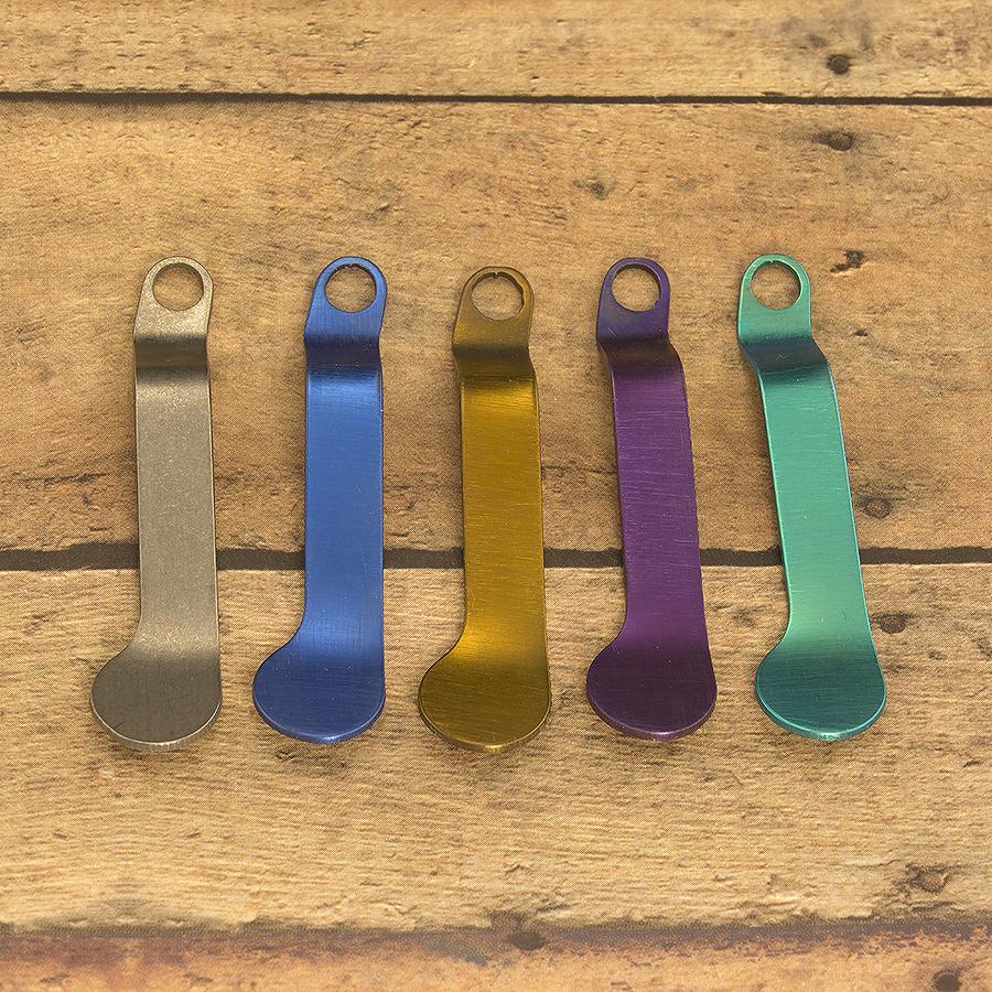KeyBar Plain Titanium Spare Pocket Clip
