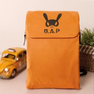กระเป๋าสะพายB.A.P (สี่เหลี่ยมสีส้ม)