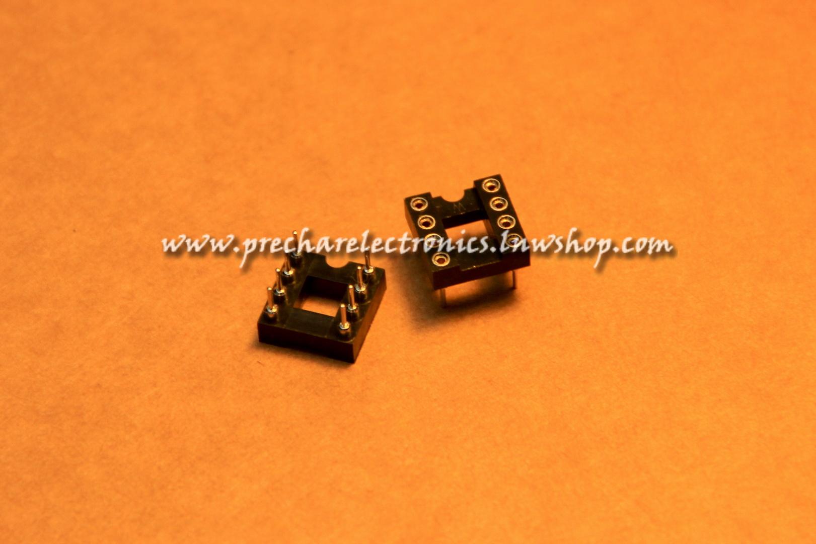 Socket IC 8 ขา (อย่างดี)