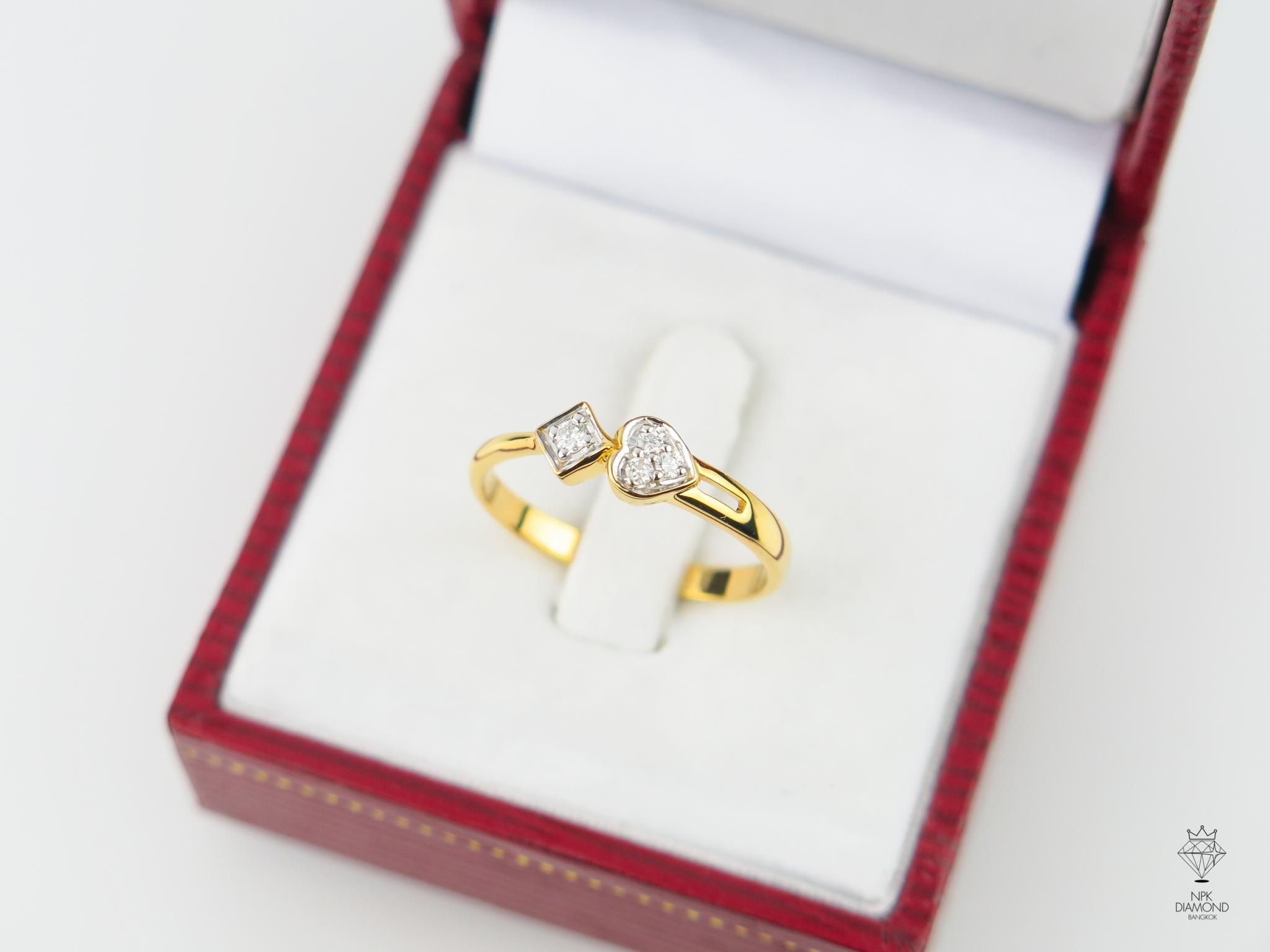 แหวนเพชร โพ ดอกจิก