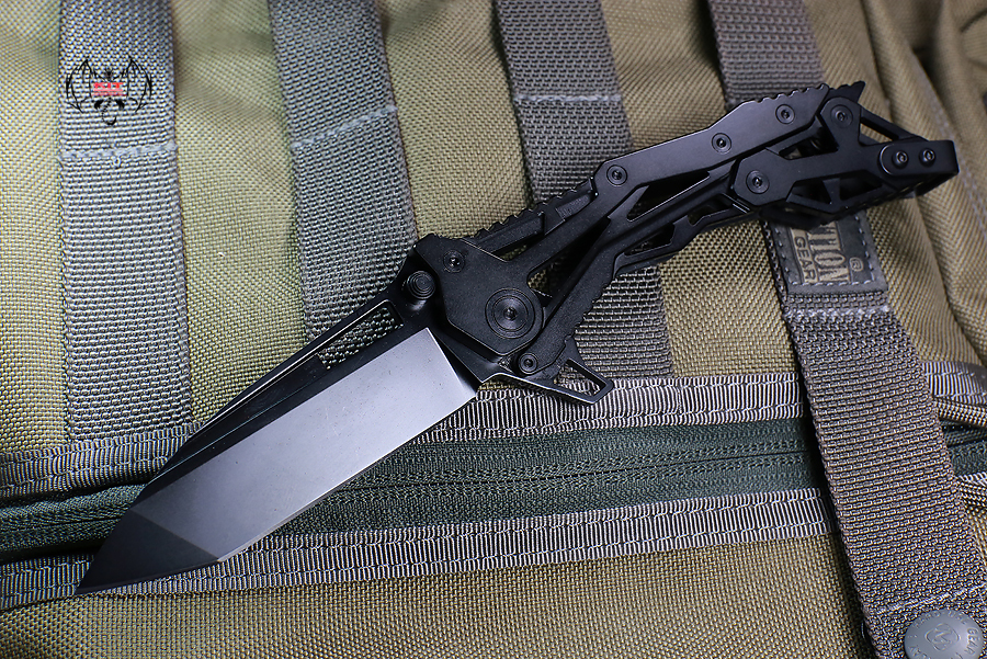 Quartermaster QTR-11lt General Lee 2 Limo Tint Black Tanto Blade