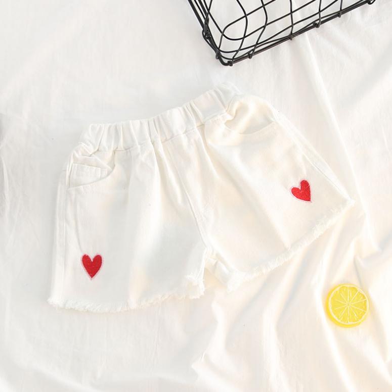 กางเกง สีขาว แพ็ค 5 ชุด ไซส์ 90-100-110-120-130