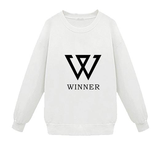 เสื้อแขนยาว WINNER สีขาว