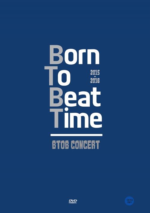 BTOB - 2015-16 BTOB Born To Beat TIME CONCERT DVD (Photobook+DVD)