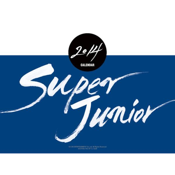 SJ SUPER JUNIOR SM Artist 2014 Season Greeting