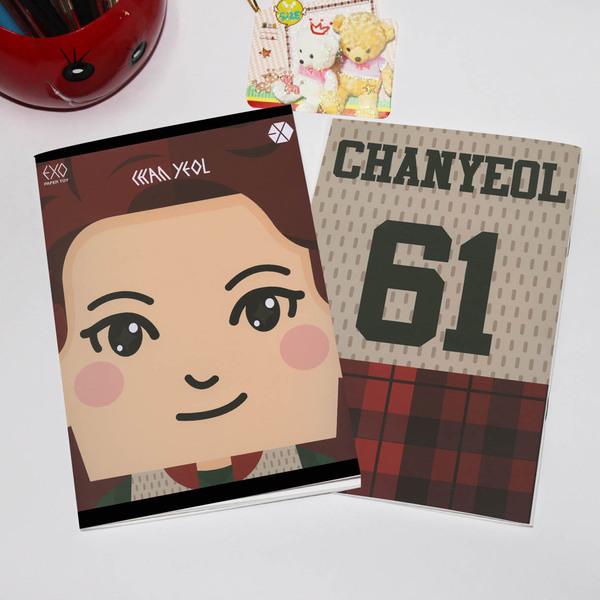 สมุด EXO CHANYEOL 61