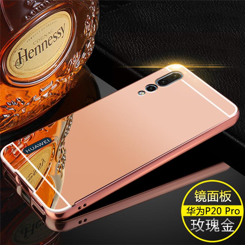 เคส Huawei P20 รุ่น Aluminium Hybrid Mirror Back (เคสฝาหลังเงา)